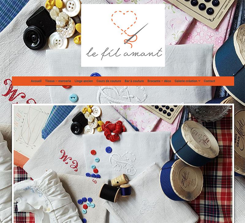 le fil amant atelier couture
