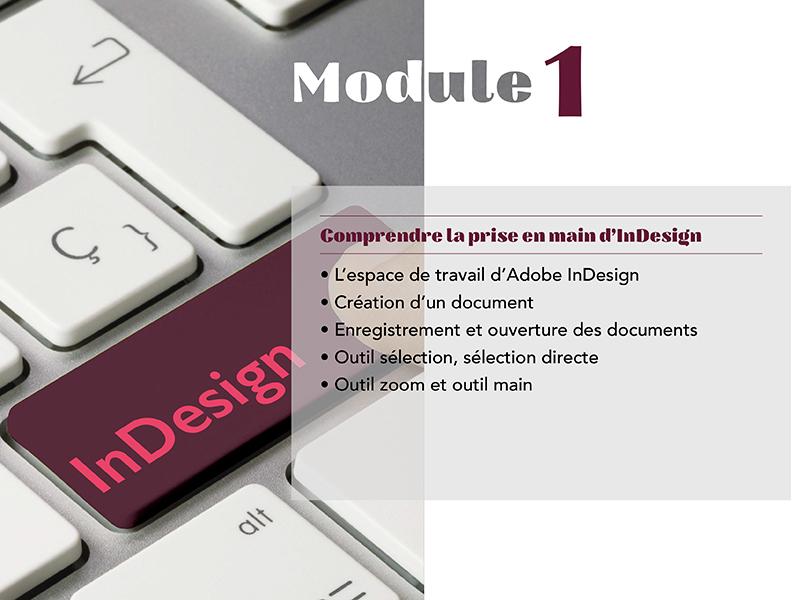 Module 1 - d'Indesign